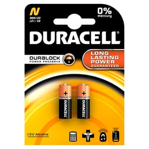 BATTERI DURACELL SECURITY N / MN9100 (2)