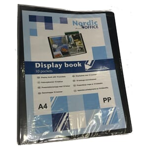 DISPLAYBOK NOA A4 10L SORT