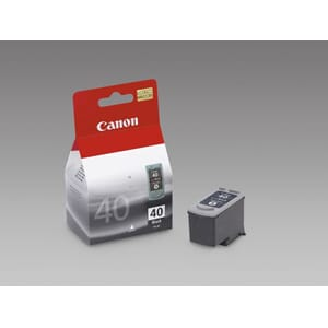 BLEKK CANON PG-40 PIXMA MP170/IP2200 SORT