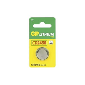 BATTERI GP LITHIUM CR2450-C1 3V