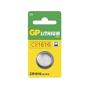 BATTERI GP LITHIUM CR1616-C1 3V