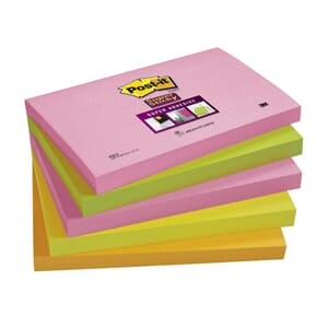 POST-IT® SUPERS 76X127MM 655-SN CAPETOWN