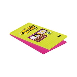 POST-IT® SUPERS 125X200MM LINJER ASS (2)