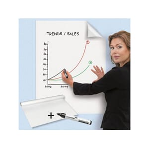 MAGIC CHART LEGAMASTER 60X80 WHITEBOARD