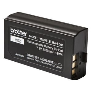 BATTERI BROTHER LI-ION OPPLADBAR BA-E001