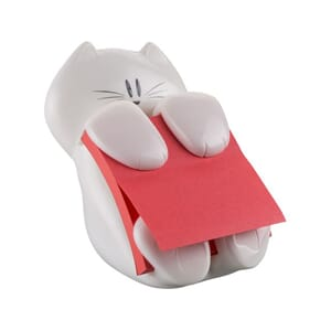 POST-IT® SUPERS Z-N CAT DISPENSER 76X76