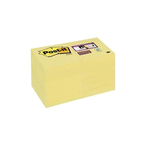 POST-IT® SUPERS 51X51MM GUL (12)