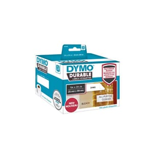 ETIKETT DYMO DURABLE 25MM X 89MM 700/FP