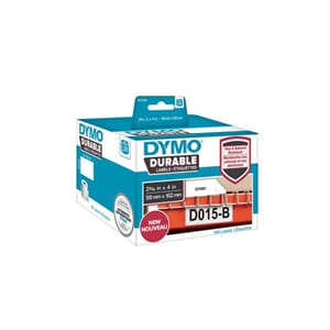 ETIKETT DYMO DURABLE 59MM X 102MM 300/FP