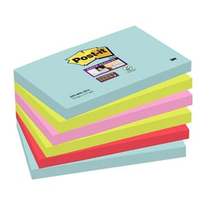 POST-IT® SUPERS 76X127MM MIAMI (6)