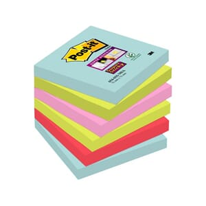 POST-IT NOTATBL MIAMI 76MMX76MM (6)