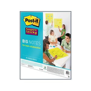 POST-IT® SUPERS BIG NOTES 56X56CM 30 ARK