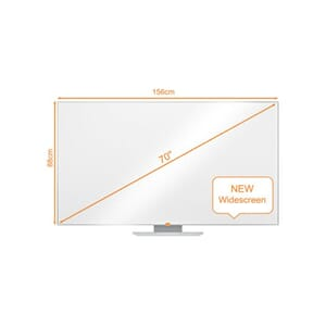 WHITEBOARD NOBO WIDESCREEN 70 NANOCLEAN