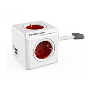 POWERCUBE EXTENDED GRENDOSA USB RED 1.5M