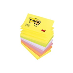 POST-IT® Z-N 76X127MM R350 NEON ASS (6)