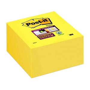 POST-IT® SUPERS 76X76MM KUBE GUL