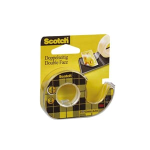 TAPE SCOTCH 136D DBL.KL 12MMX6,3M I DISP