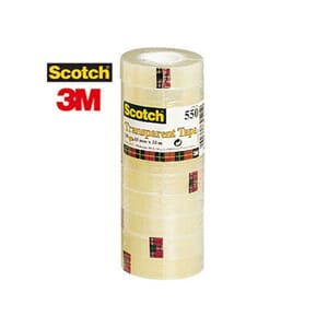 TAPE SCOTCH® 550 15MMX33M TRANSPARENT