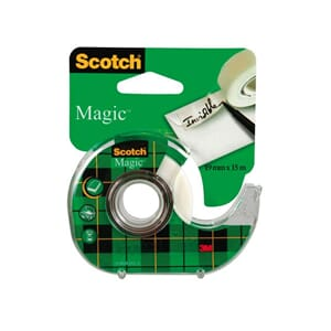 TAPE SCOTCH® MAGIC 810 19MMX15M M/DISP
