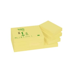 POST-IT® NOTATBLOKK 38X51MM 653RE GUL(3)