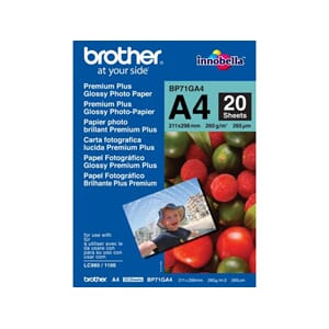 FOTOPAPIR BROTHER BP71 GLOSS A4 260G(20)