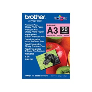 FOTOPAPIR BROTHER BP71 GLOSS A3 260G(20)
