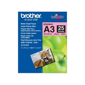 FOTOPAPIR BROTHER BP60 MATT A3 145G (25)