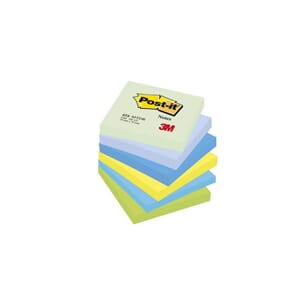 POST-IT® NOTATBLOKK 76X76MM GRØNN ASS(6)