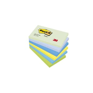 POST-IT® NOTATBLOKK 76X127MM 655 ASS (6)