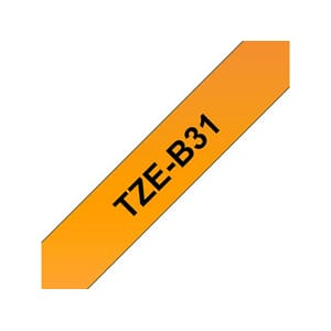 TAPE BROTHER TZE-B31 12MMX8M SORT/ORANGE
