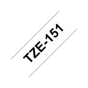 TAPE BROTHER TZE-151 24MMX8M SORT/KLAR