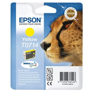 BLEKK EPSON T0714 YELLOW(5,5ML)