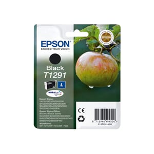 BLEKK EPSON T1291 SORT INK CARTRIDGE