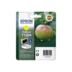 BLEKK EPSON T1294 GUL INK CARTRIDGE