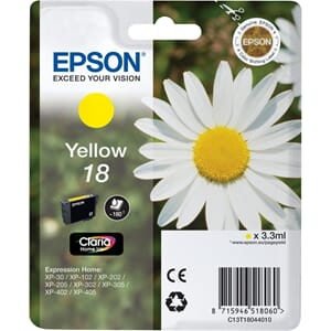 BLEKK EPSON T1804 YELLOW