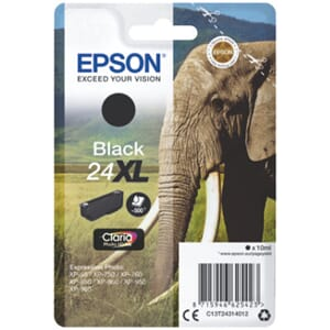 BLEKK EPSON 24XL SORT