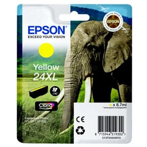 BLEKK EPSON 24XL YELLOW