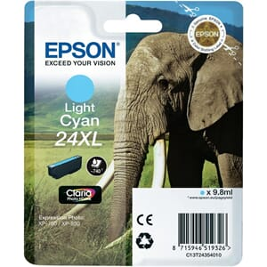 BLEKK EPSON 24XL LIGHT CYAN