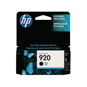 BLEKK HP CD975AE NO920XL SORT OFFICEJET
