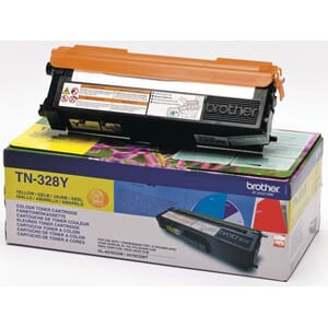 TONER BROTHER TN328 YELLOW 6K